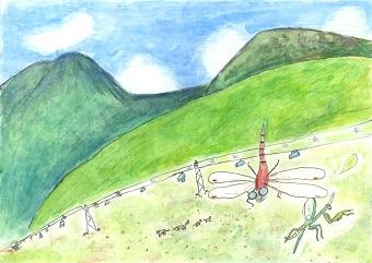 Iwatani賞 タイトル「大好きな山の景色」