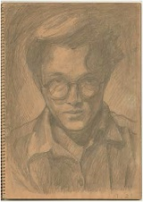 自画像 1951年